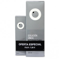 INTERAPOTHEK PACK SOLUCION UNICA PARA LENTILLAS 500ML+100ML