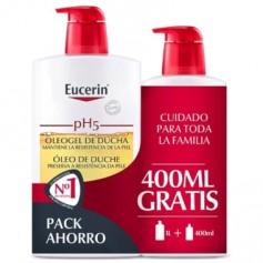 EUCERIN PH-5 EUCERIN OLEOGEL DE DUCHA HIDRATANTE PIEL SECA 1000 ML+400 ML