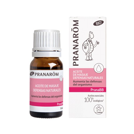 PRANAROM PRANABB ACEITE DE MASAJE DEFENSAS NATURALES 10 ML
