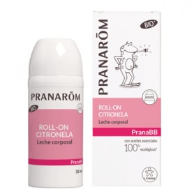 PRANAROM PRANABB ROLL-ON CITRONELLA LECHE CORPORAL 30 ML