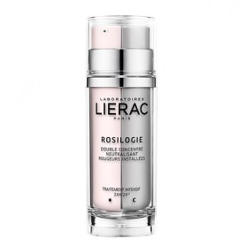 LIERAC ROSILOGIE DOBLE CONCENTRADO ANTIROJECES DIA Y NOCHE 2X30 ML