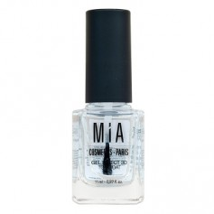 MIA TOP COAT GEL EFFECT EFECTO 3D BRILLO Y SECADO RAPIDO 11 ML