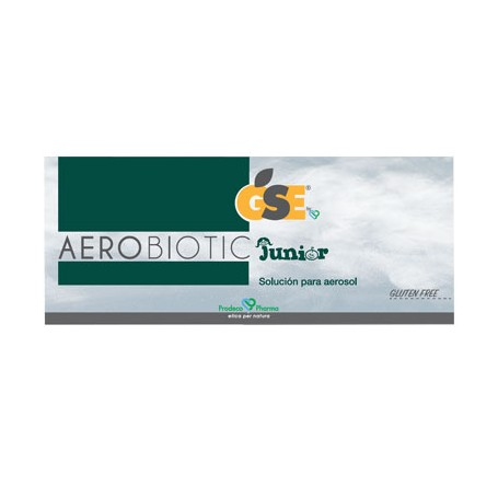 GSE AEROBIOTIC JUNIOR SOLUCION PARA AEROSOL 10 AMPOLLAS DE 5 ML