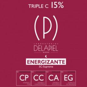 DELAPIEL AMPOLLAS ENERGIZANTES 3-C SUPREME NOCHE 15 AMPOLLAS