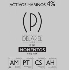 DELAPIEL AMPOLLAS MOMENTOS DAILY FLASH DIA Y NOCHE 15 AMPOLLAS