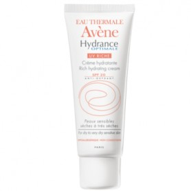 AVENE HYDRANCE OPTIMALE CREMA FACIAL ENRIQUECIDA UV SPF 20 40 ML