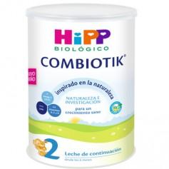 HIPP COMBIOTIK 2 LECHE DE CONTINUACION BEBÉS 6-12 MESES 800 GR
