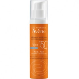 AVENE SOLAR 50+ EMULSION FACIAL PROTECTORA SOLAR PIEL NORMAL MIXTA 50 ML