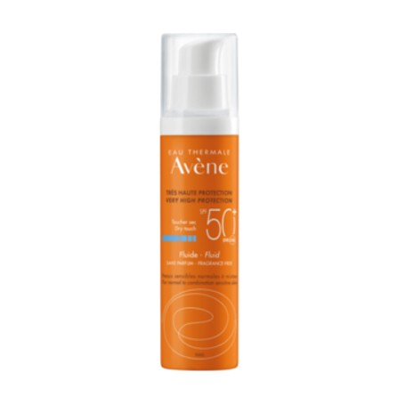 AVENE SOLAR 50+ FACIAL EMULSION PROTECTORA SOLAR PIEL NORMAL MIXTA 50 ML