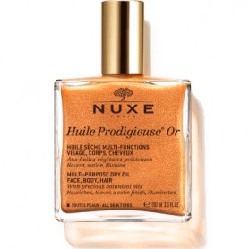 NUXE HUILE PRODIGIEUSE OR ACEITE FACE, BODY, HAIR VAPORIZADOR 100 ML