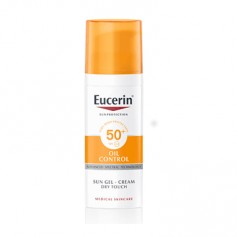 EUCERIN SUN GEL CREMA OIL CONTROL DRY TOUCH SPF50+ PROTECTOR SOLAR 50 ML