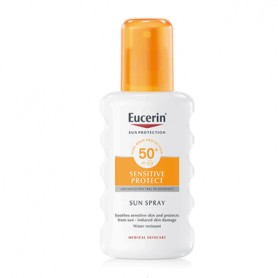 EUCERIN SUN SENSITIVE SPRAY CORPORAL PROTECTOR SOLAR SPF50+ 200 ML