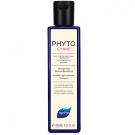 PHYTO PHYTOCYANE CHAMPU TRATANTE ANTICAIDA DENSIFICADOR MUJER 250 ML