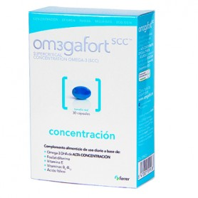 OMEGAFORT CONCENTRACION OMEGA-3 Y VITAMINAS B PACK 2X60 CAPSULAS