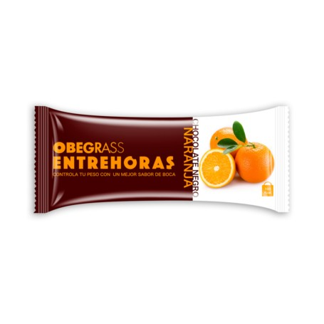 OBEGRASS BARRITAS ENTREHORAS CHOCOLATE Y NARANJA