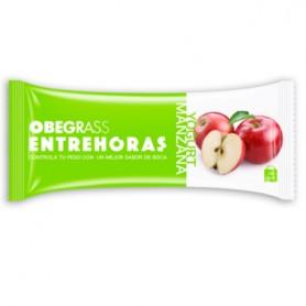 OBEGRASS BARRITAS ENTREHORAS YOGURT Y MANZANA 30 G