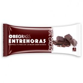 OBEGRASS BARRITAS ENTREHORAS CHOCOLATE NEGRO 30 G