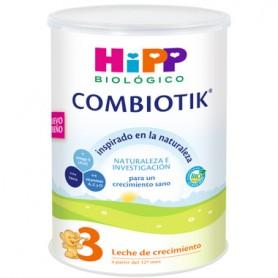 HIPP COMBIOTIK 3 LECHE BIOLOGICA DE CRECIMIENTO A PARTIR DE 12 MESES 800GR