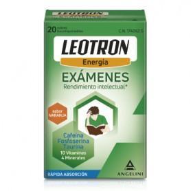 LEOTRON EXAMENES ENERGIA Y RENDIMIENTO INTELECTUAL 20 SOBRES