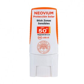 HIDROTELIAL NEOVIUM STICK PROTECTOR SOLAR SPF50 ZONAS SENSIBLES 9 G