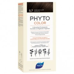 PHYTO PHYTOCOLOR TINTE NATURAL 5.7 CASTAÑO MARRON