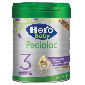 HERO BABY PEDIALAC 3 LECHE INFANTIL DE CRECIMIENTO +12 MESES 800 G