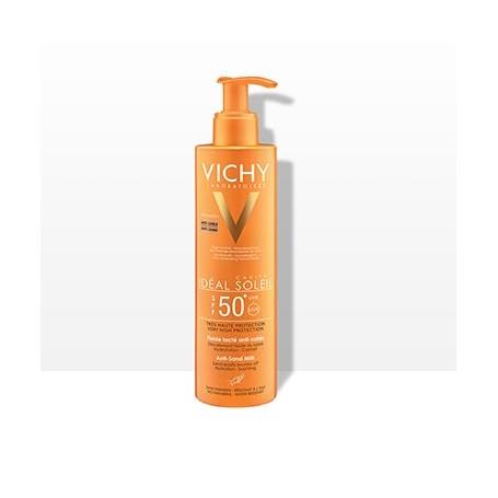 VICHY IDEAL SOLEIL SPF 50 LECHE FLUIDA ANTIARENA PROTECTORA SOLAR 200 ML