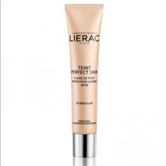 LIERAC TEINT PERFECT SKIN FLUIDO CON COLOR 01 LIGHT BEIGE SPF20 30 ML