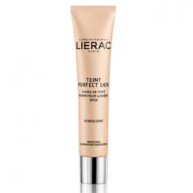 LIERAC TEINT PERFECT SKIN FLUIDO CON COLOR 03 GOLDEN BEIGE SPF20 30 ML