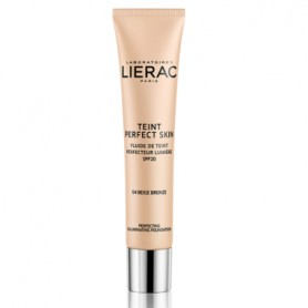 LIERAC TEINT PERFECT SKIN FLUIDO CON COLOR 04 BRONZE BEIGE SPF20 30 ML