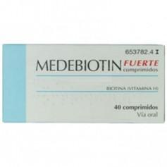 MEDEBIOTIN FUERTE (VITAMINA H O BIOTINA ) 0,5 MG 40 COMPRIMIDOS