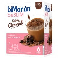BIMANAN BESLIM BATIDO CHOCOLATE 250GRX6UDS