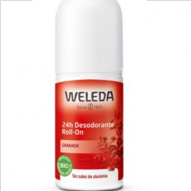 WELEDA DUPLO DESODORANTE GRANADA 24 H SIN ALUMINIO ROLL ON 2X50 ML