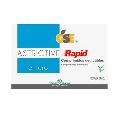 GSE ASTRICTIVE RAPID 24 COMPRIMIDOS DEGLUTIBLES
