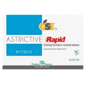 GSE ASTRICTIVE RAPID 24 COMPRIMIDOS MASTICABLES