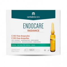 ENDOCARE RADIANCE C OIL FREE PIEL NORMAL MIXTA 30 AMPOLLASX2 ML
