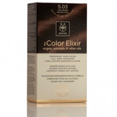 APIVITA COLOR ELIXIR TINTE NATURAL PERMANENTE 5.03 LIGHT BROWN NATURAL GOLD