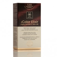 APIVITA COLOR ELIXIR TINTE NATURAL PERMANENTE 5.65 LIGHT BROWN RED MAHOGANY