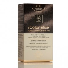 APIVITA COLOR ELIXIR TINTE NATURAL PERMANENTE 6.18 DARK BROWN ASH PEARL