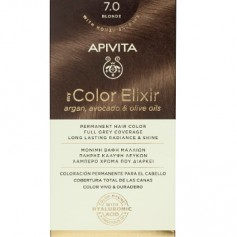 APIVITA COLOR ELIXIR TINTE PERMANENTE NATURAL 7.0 RUBIO BLONDE