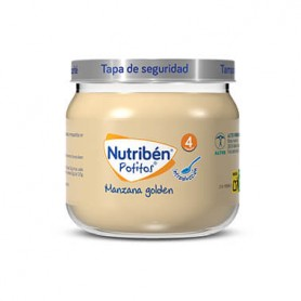 NUTRIBEN POTITO INTRODUCCION A LA MANZANA GOLDEN 120 G