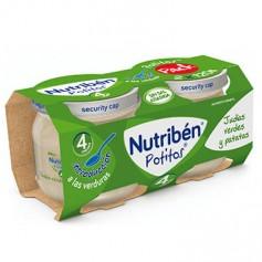 NUTRIBEN POTITO INTRODUCCION A LAS JUDIAS VERDES Y PATATAS 2X 120 G