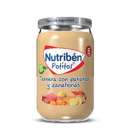 NUTRIBEN POTITO DE TERNERA CON PATATAS Y ZANAHORIAS 235 G