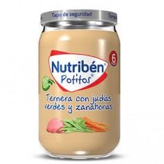 NUTRIBEN POTITO DE TERNERA CON JUDIAS VERDES Y ZANAHORIAS 235 G