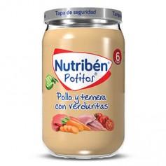 NUTRIBEN POTITO DE POLLO Y TERNERA CON VERDURITAS 235 G