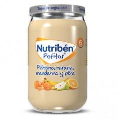 NUTRIBEN POTITO DE PLATANO, NARANJA, MANDARINA Y PERA 235 G