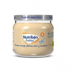 NUTRIBEN POTITO DE INTRODUCCION A LA MANZANA, NARANJA, PLATANO,PERA Y MADARINA 120 G