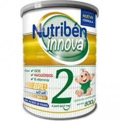 NUTRIBEN INNOVA 2 LECHE DE CONTINUACION SIN ACEITE DE PALMA 800 G