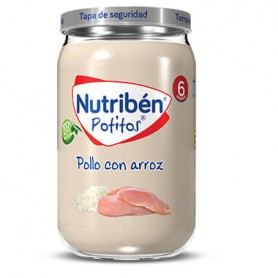 NUTRIBEN POLLO CON ARROZ 235 G.