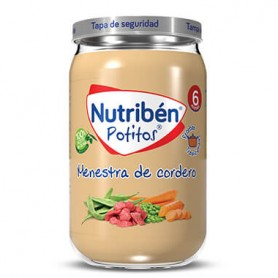 NUTRIBEN MENESTRA DE CORDERO 235 G.